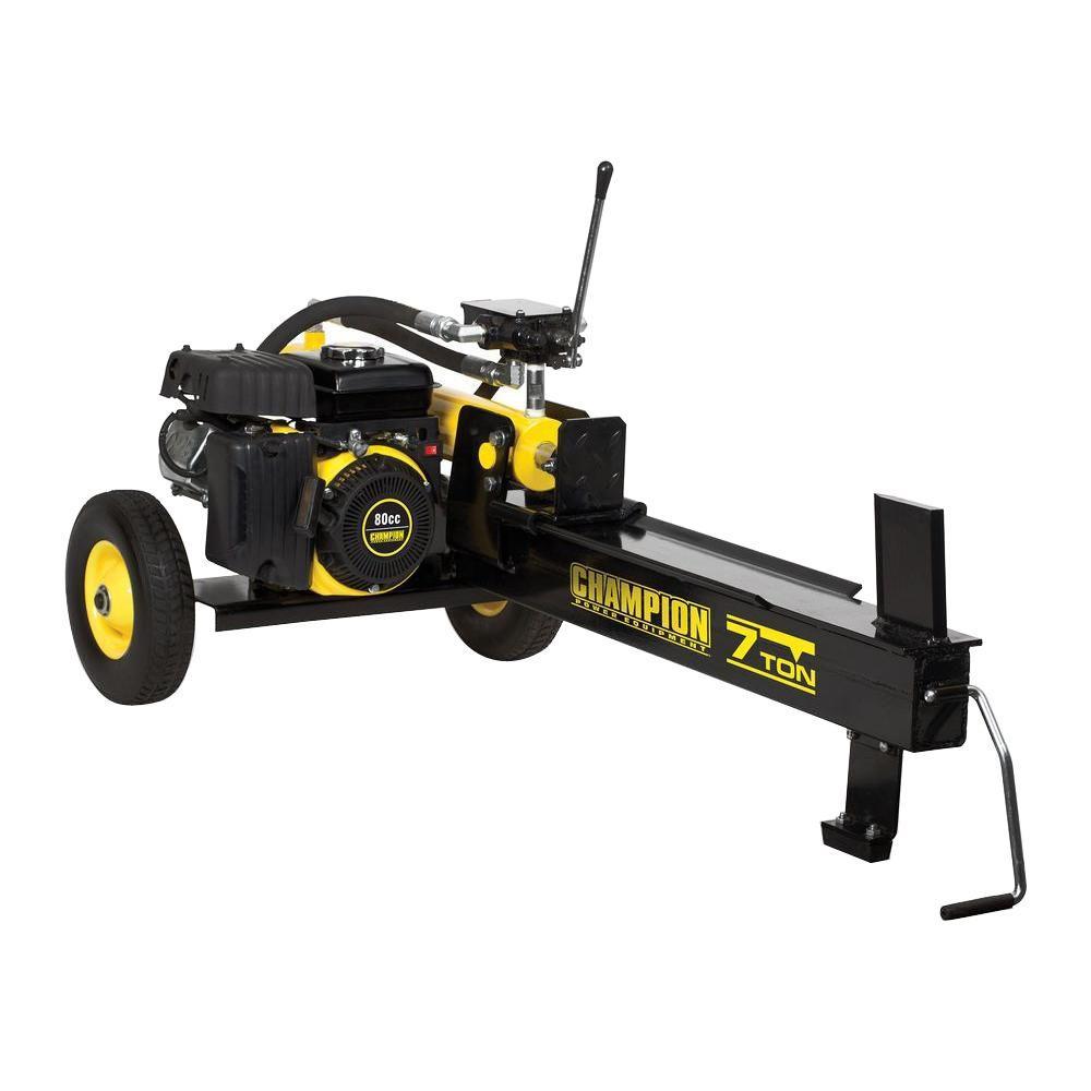 7-Ton 80cc Gas Hydraulic Log Splitter