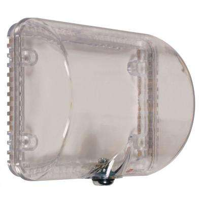 Thermostat Protector with Key Lock - Clear