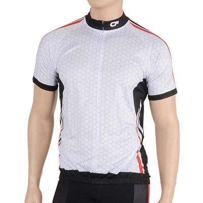 Triumph Men's Large White/Red Cycling Jersey