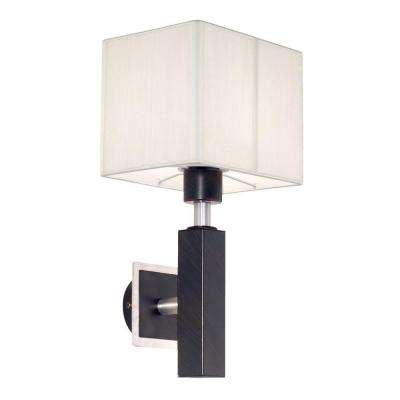 Tosca Collection 1-Light Antique Brown Surface Mount Sconce