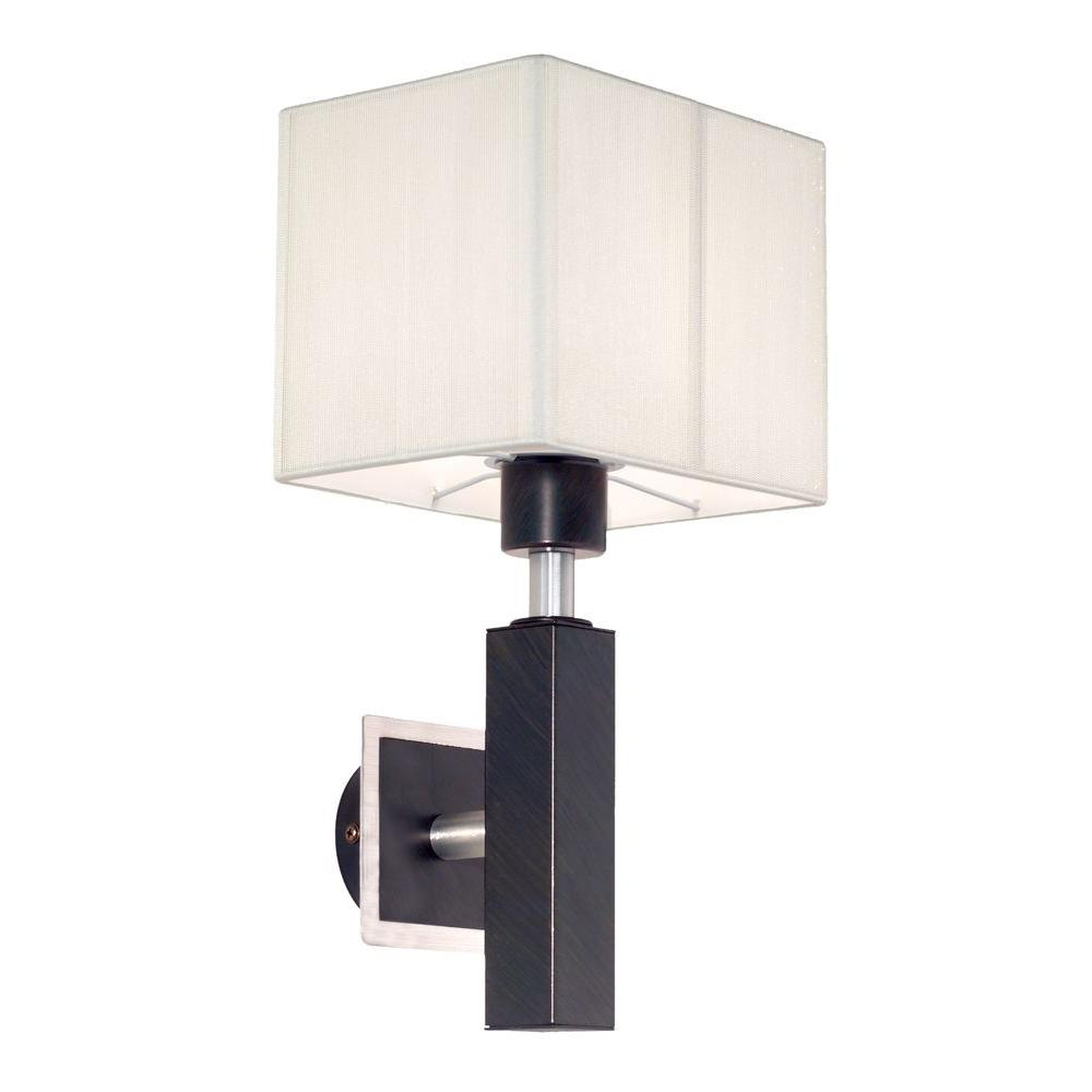 null Tosca Collection 1-Light Antique Brown Surface Mount Sconce