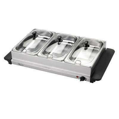 2.5 Qt. Stainless Steel Buffet Server and Warming Tray
