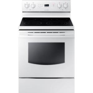 Samsung 30 In 5 9 Cu Ft Electric Range With Self