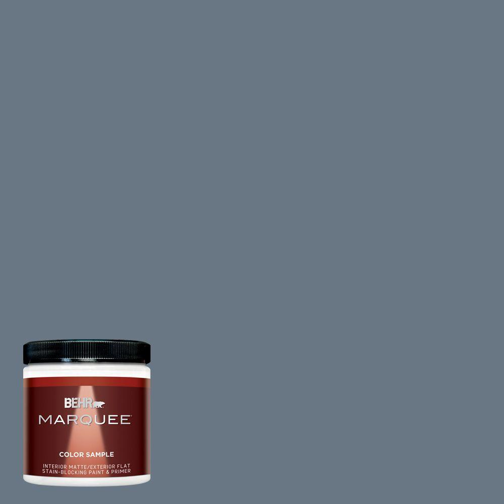 BEHR MARQUEE 8 oz. #MQ5-19 Hypnotic Interior/Exterior Paint Sample