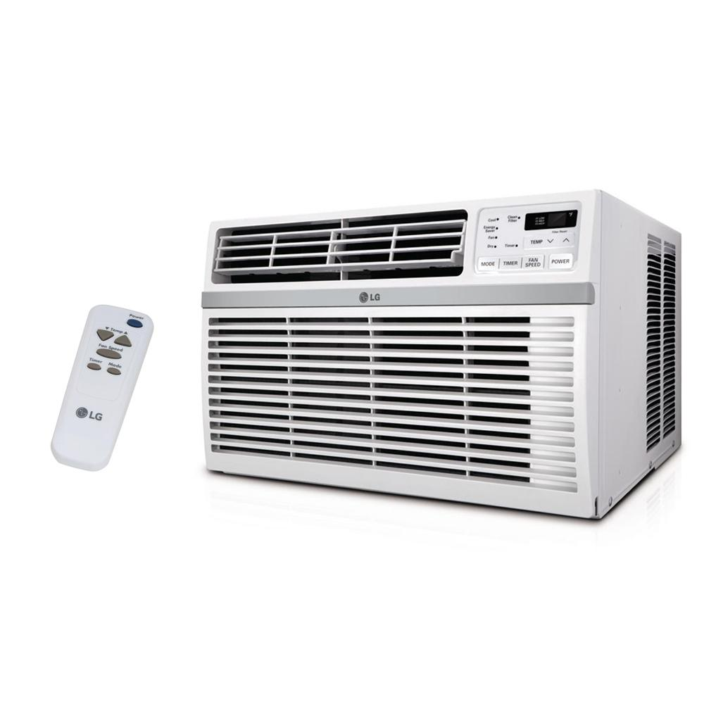 lg electronics 18,000 btu 230/208-volt window air conditioner with