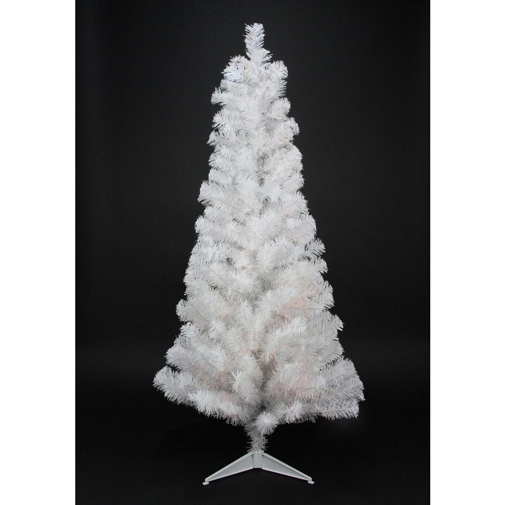 Northlight 3 Ft X 18 In White Tinsel Artificial Christmas Tree Unlit