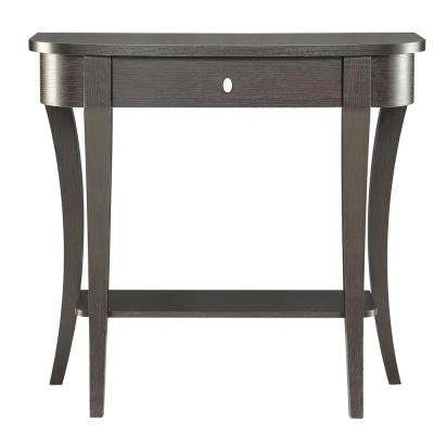 Newport Espresso Console Table
