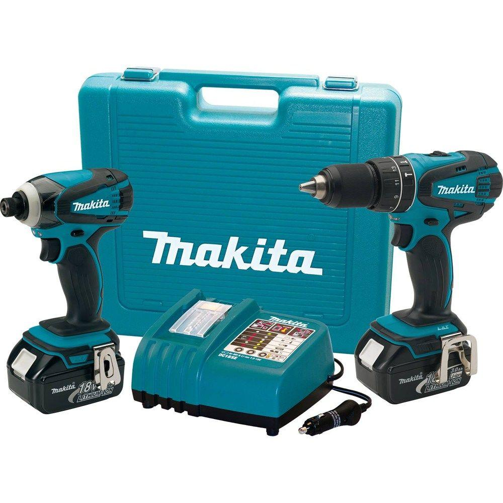 Makita 18-Volt LXT Lithium-Ion Cordless Hammer Drill/Impact