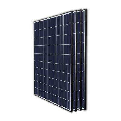 270-Watt 24-Volt Polycrystalline Solar Panel for Residential Commercial Rooftop Back-Up Off-Grid Application (Pack of 4)