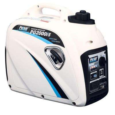 2,000/1,600-Watt Gasoline Powered Recoil Start Inverter Generator with California Complaint 80 cc Ducar Engine