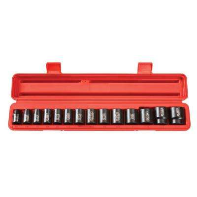 1/2 in. Drive 3/8 - 1-1/4 in. 12-Point Shallow Impact Socket Set