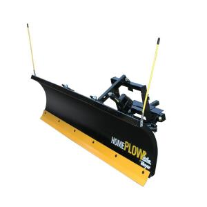Home Plow by Meyer 80 inch x 22 inch Residential Electric Auto Angle Snow Plow by Snowplows