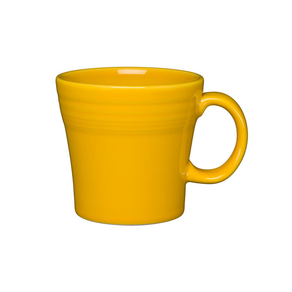 Fiesta 15 Oz Daffodil Tapered Mug 1475342u The Home Depot