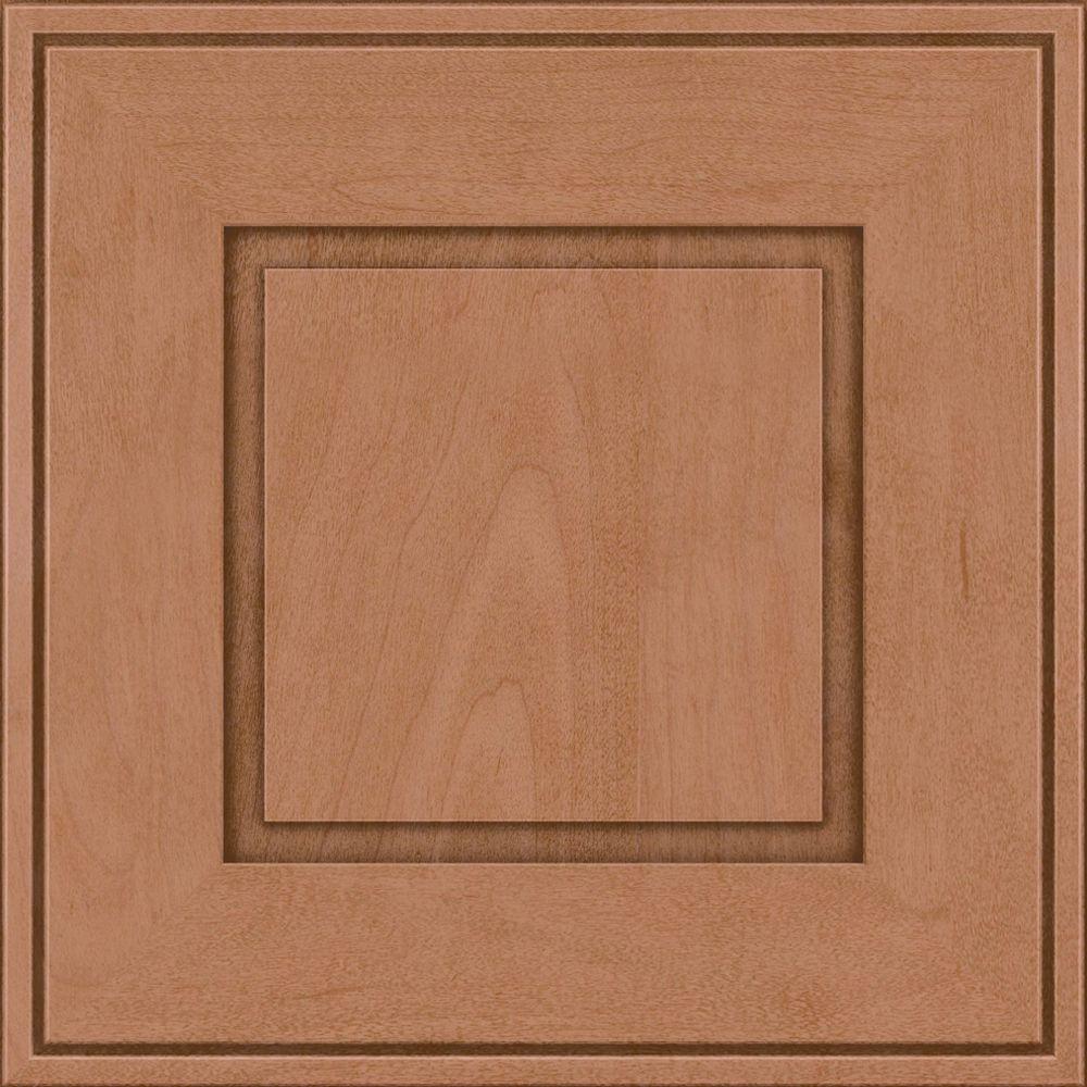 Grange 14 5/8 x 14 5/8 in. Cabinet Door Sample in Ginger