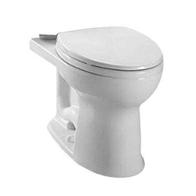 Drake II Connect + Elongated Toilet Bowl Only with CeFiONtect in Cotton White
