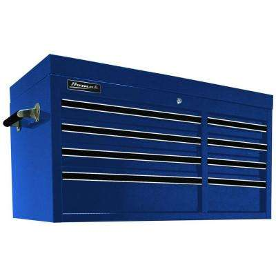 Professional 41 in. 8-Drawer Top Chest, Blue