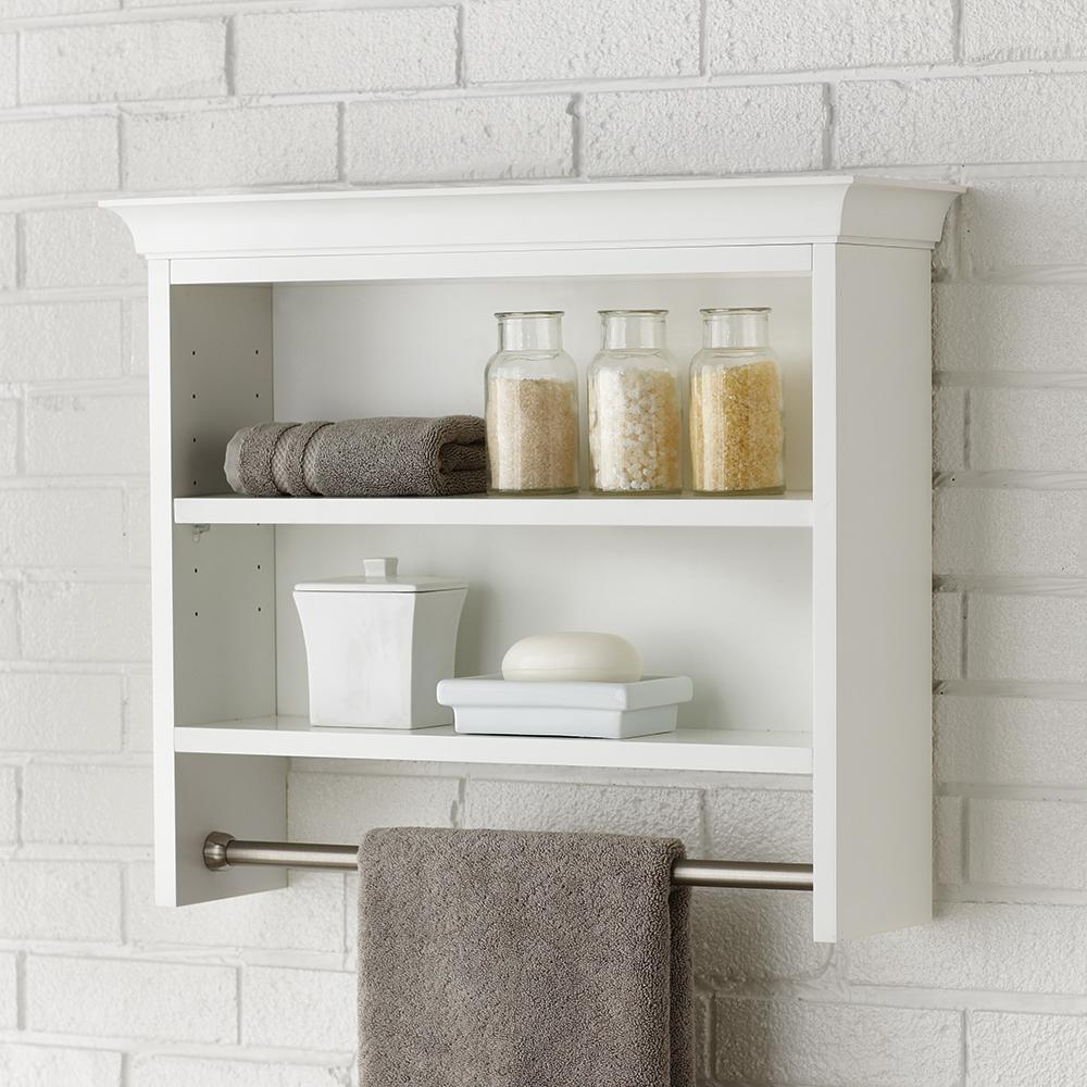 small bathroom shelves white home decorators collection creeley 7 1 20 in l x 20 1 2 20488