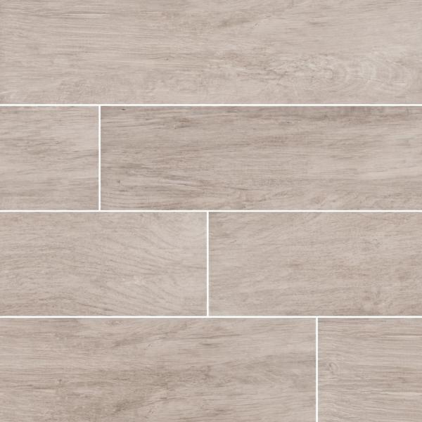 Capel Ash 6 in. x 24 in. Matte Ceramic Floor and Wall Tile (32 Cases/544 sq. ft./Pallet)