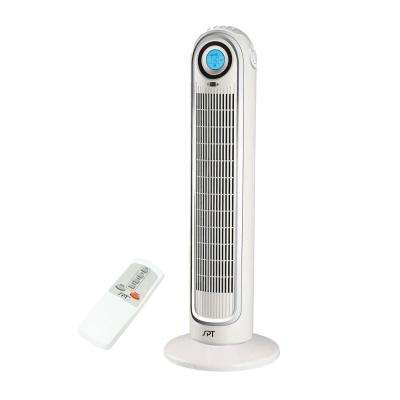 33 in. Oscillating Tower Fan