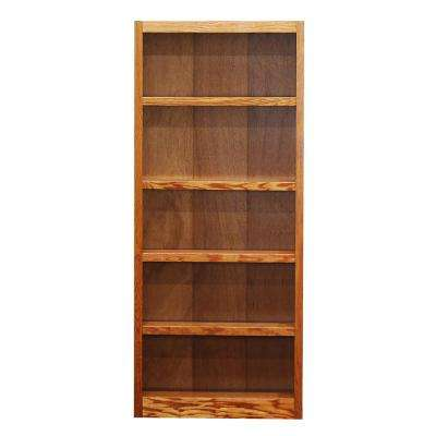 Midas Dry Oak Open Bookcase