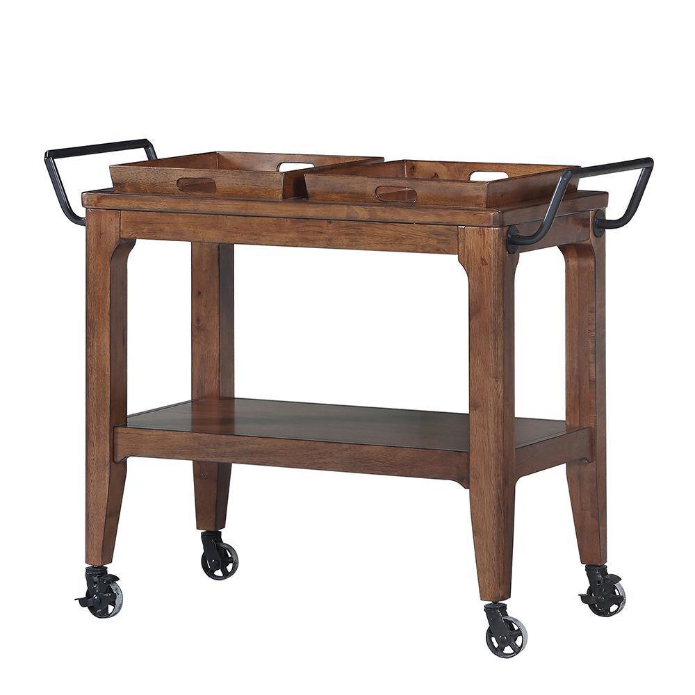 Adeline Walnut Kitchen Cart