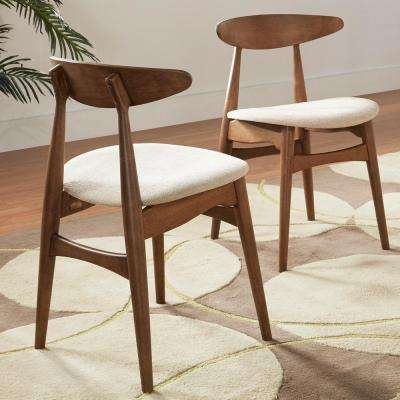 Judson Scandinavian Chestnut Dining Chair