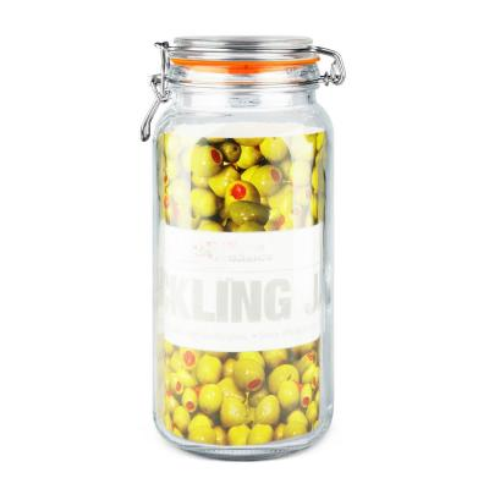 X-Large Glass Pickeling Jar