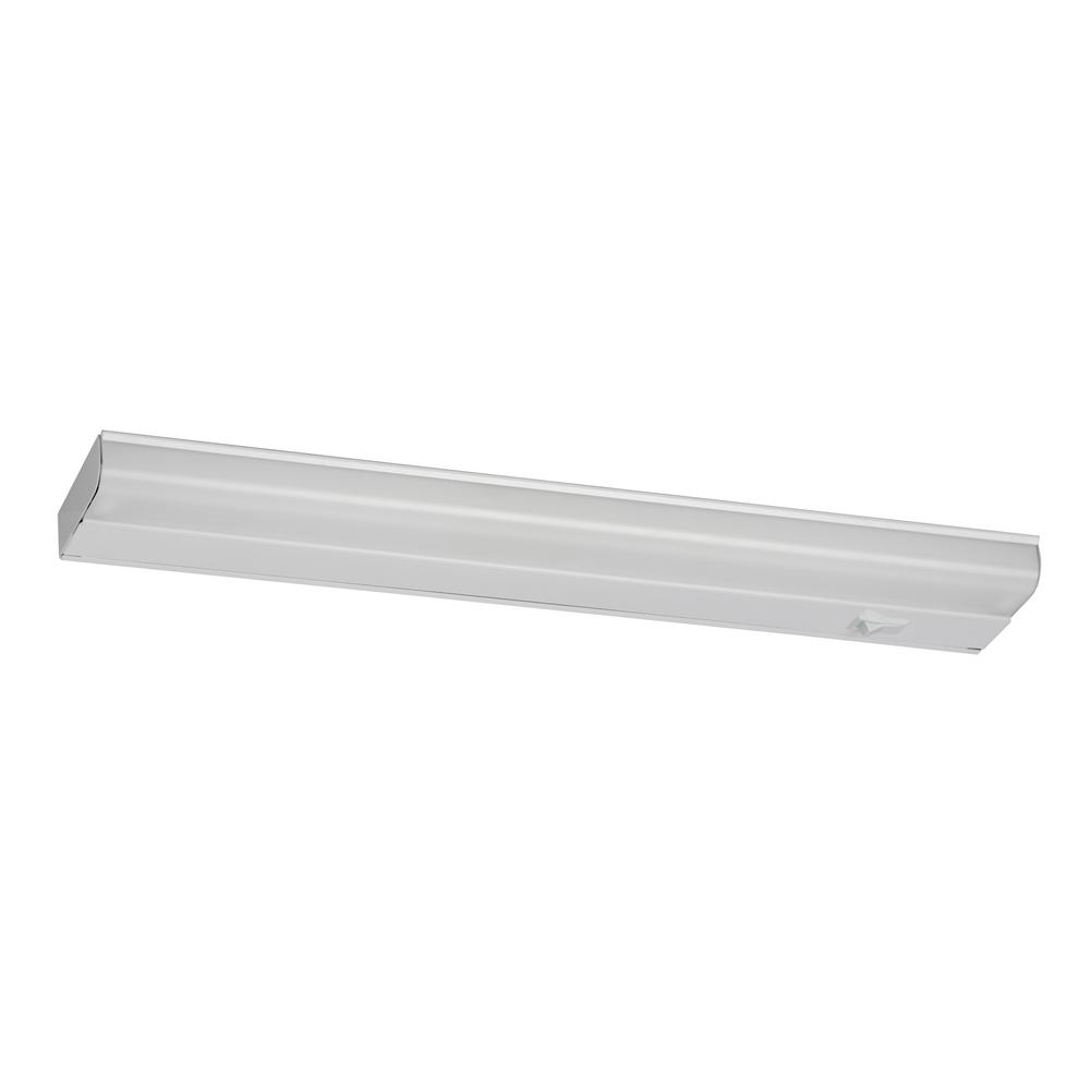 Fluorescent Light Goes On And Off: AFX T5 Fluorescent 24.38 In. Fluorescent White Under