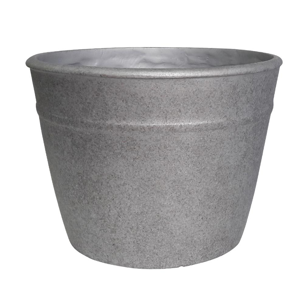 Rushmore 14 in. W x 10.5 in. H Resin Planter