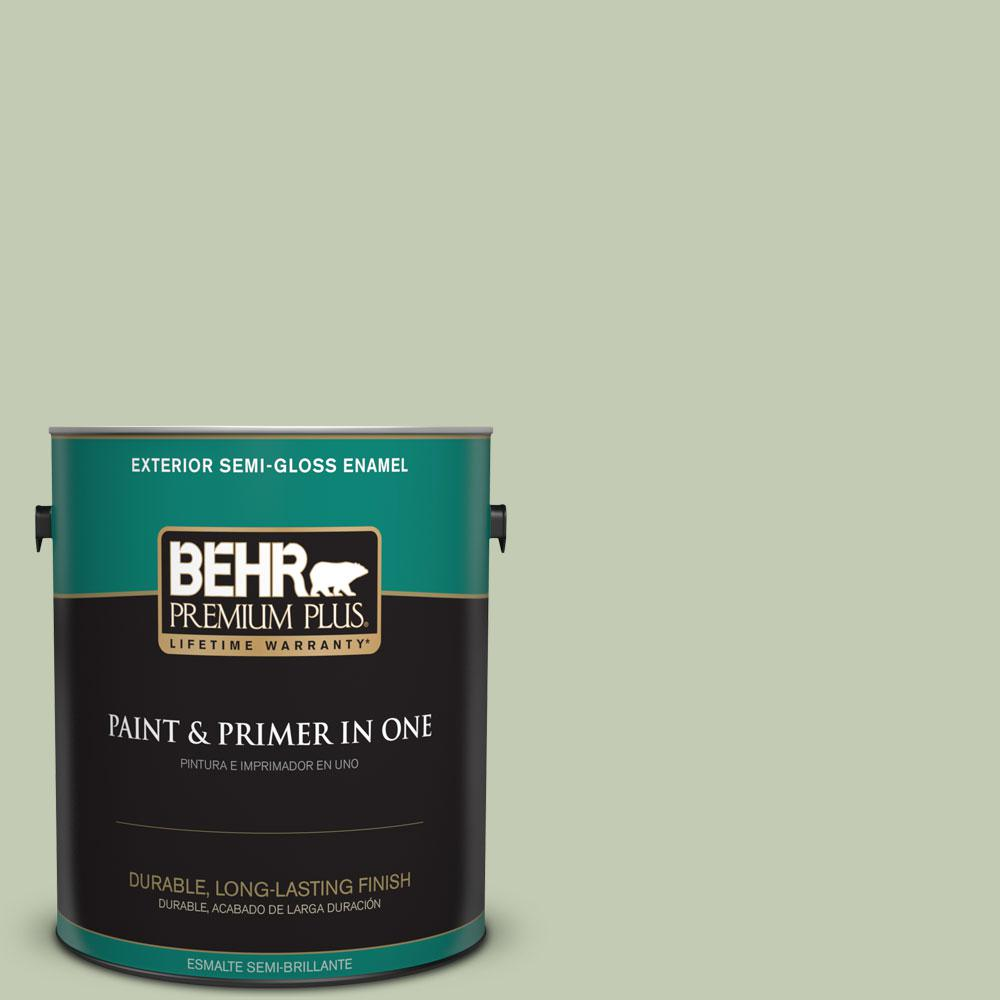1-gal. #420E-3 Spring Hill Semi-Gloss Enamel Exterior Paint