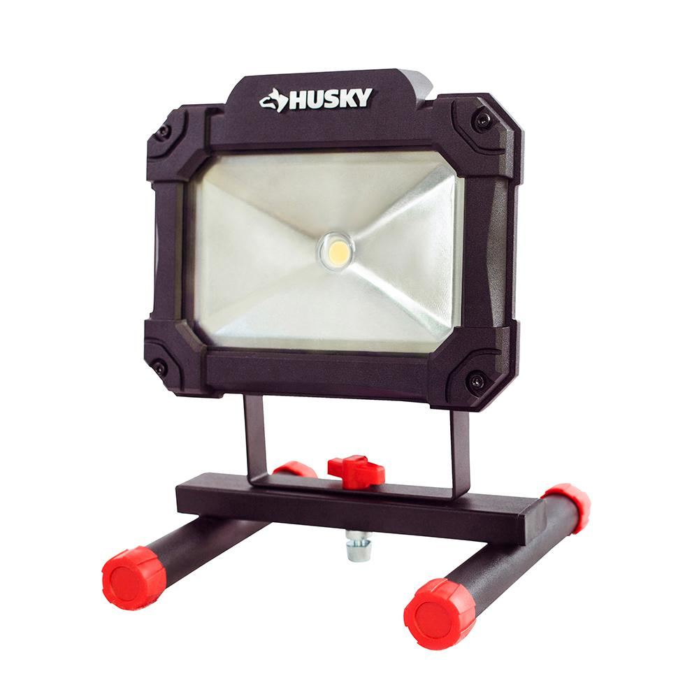 Home Depot Clamp Light: Husky 1500-Lumen LED Portable Worklight-K40066