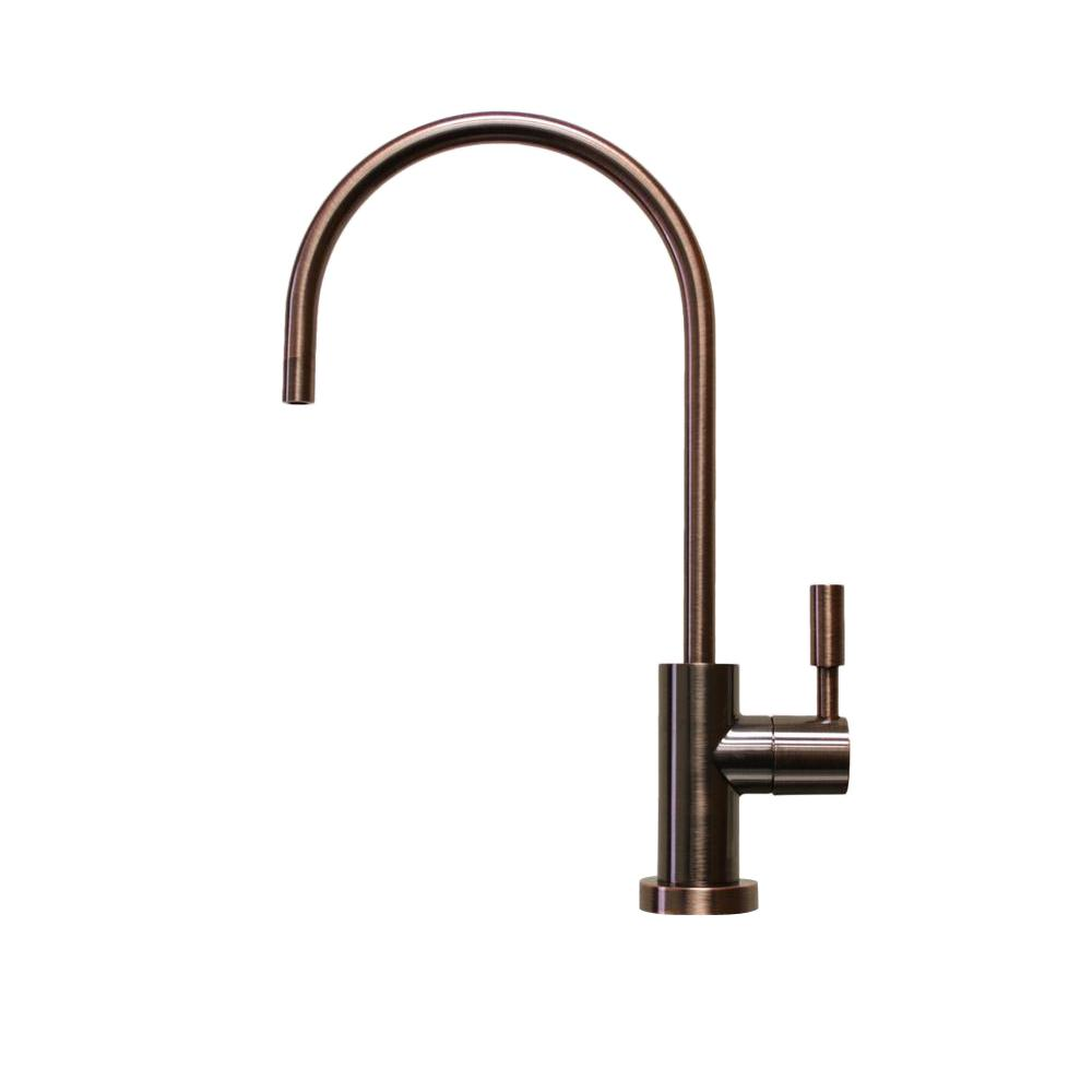Single-Handle Beverage Faucet Lead Free Non-Air Gap in Antique Wine