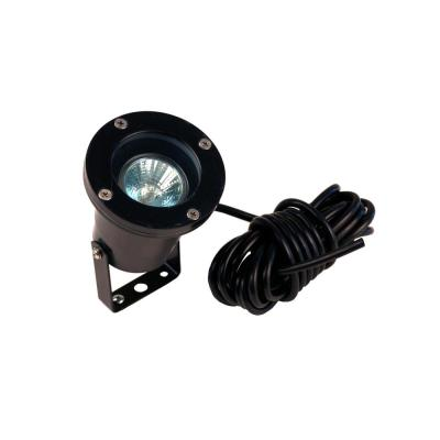 Low Voltage Black Outdoor Landscape Underwater Pond Spot Light