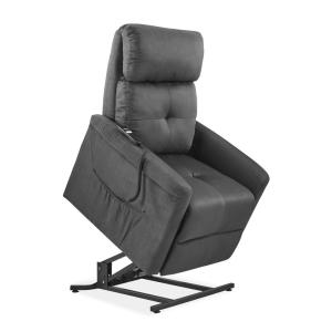 Deals on ProLounger Gray Microfiber Power Recline and Lift Chair