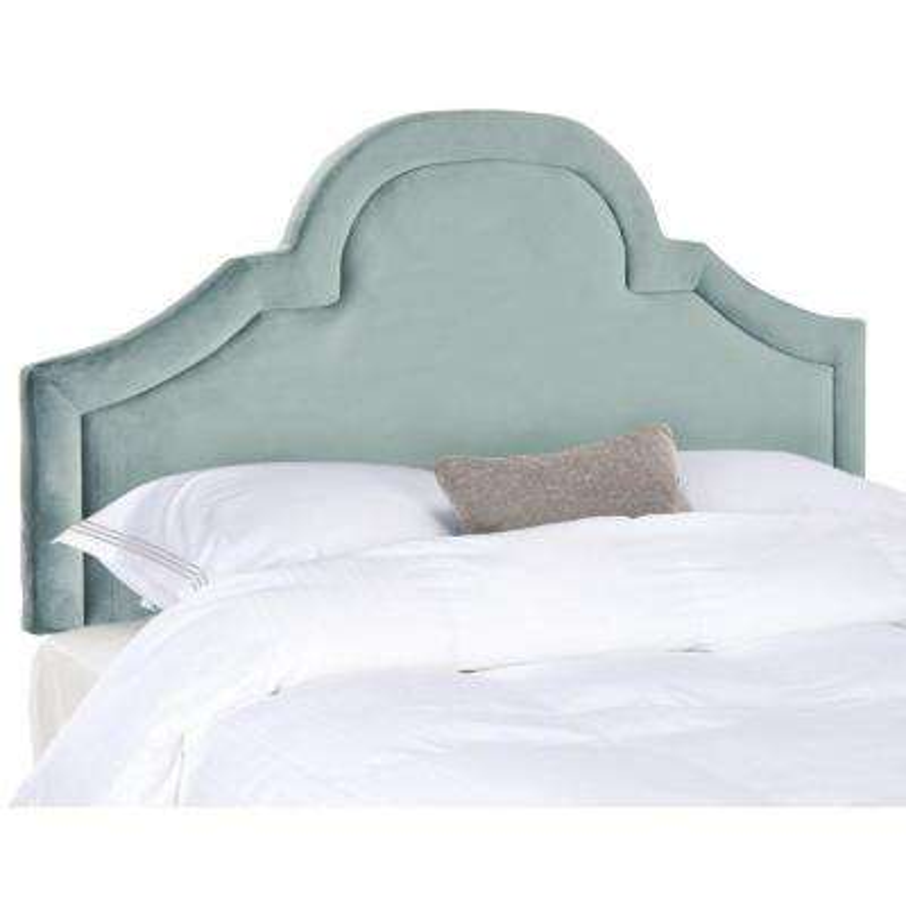 Kerstin Wedgwood Blue Queen Headboard