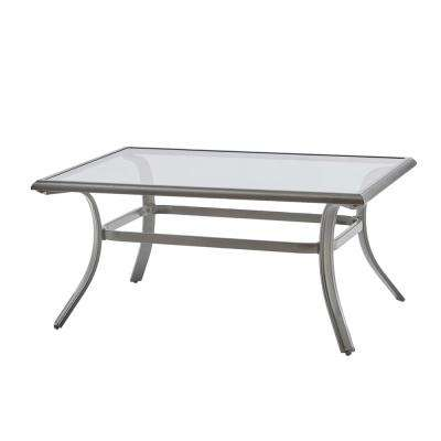 Statesville Rectangle Steel Outdoor Coffee Table
