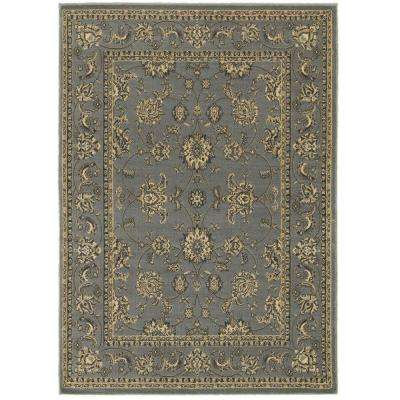Grace Gray 5 ft. x 7 ft. Plush Indoor Area Rug