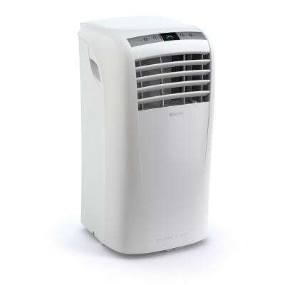 10,000 BTU, 350 sq. ft. Portable Air Conditioner Compact 3 in 1 (AC, Fan, Dehumidifier) in White