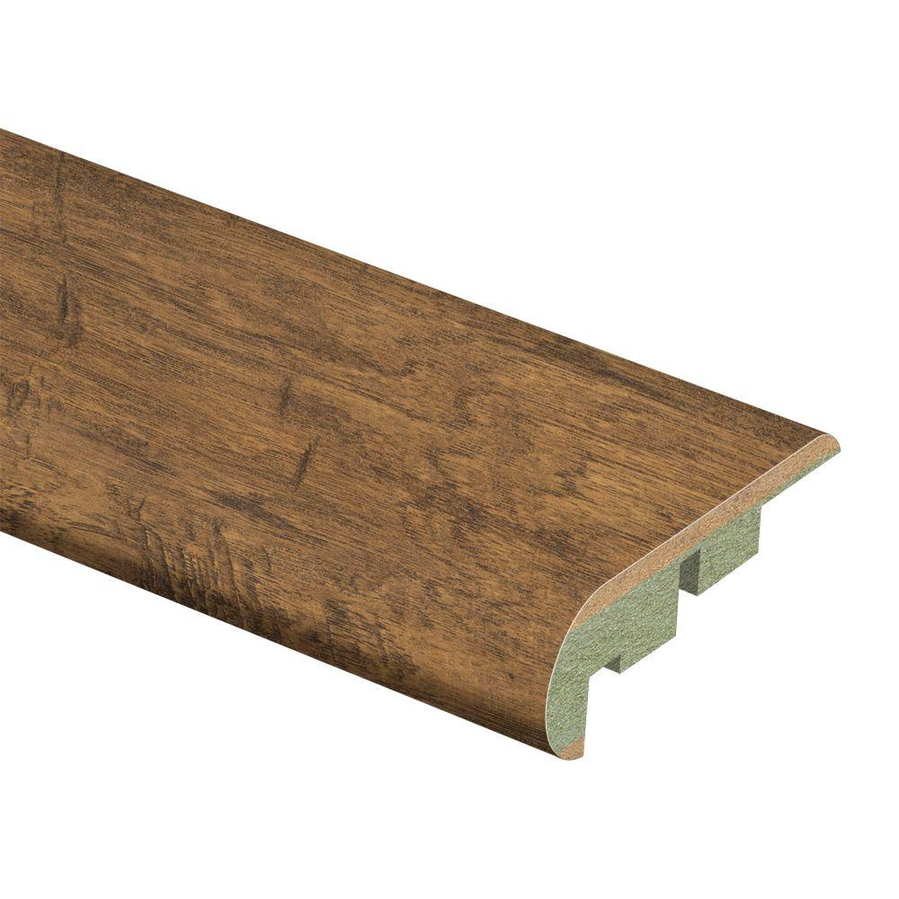 Zamma Bristol Hickory 3/4 in. Thick x 2-1/8 in. Wide x 94 in. Length Laminate Stair Nose Molding