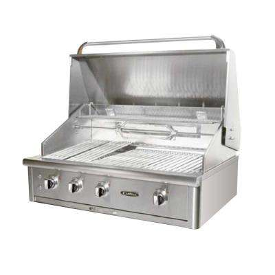 Precision 4-Burner Built-In Stainless Steel Propane Gas Grill
