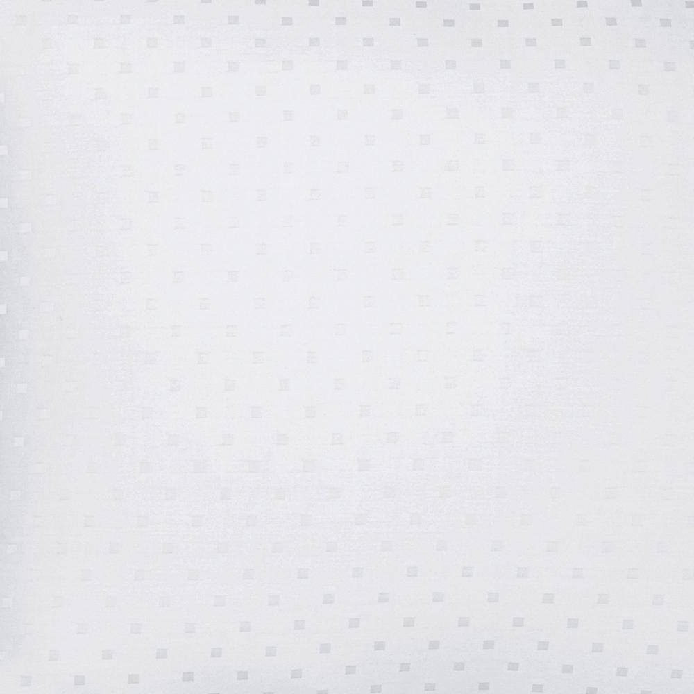 The Company Store Legends Luxury Dot Supima Sateen White Oversized King Duvet Cover