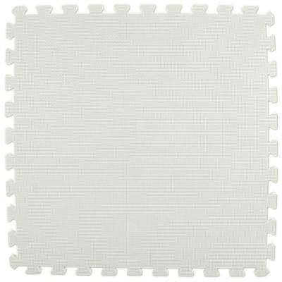 Premium White 24 in. x 24 in. x 5/8 in. Foam Interlocking Floor Mat (Case of 25)