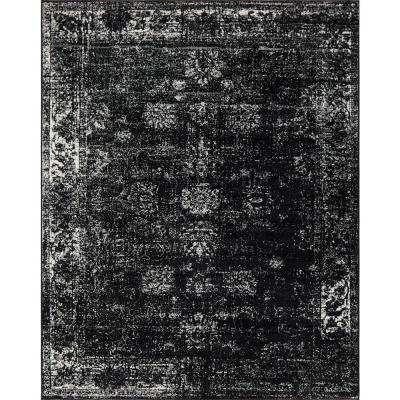 Sofia Casino Black 9' 0 x 12' 0 Area Rug