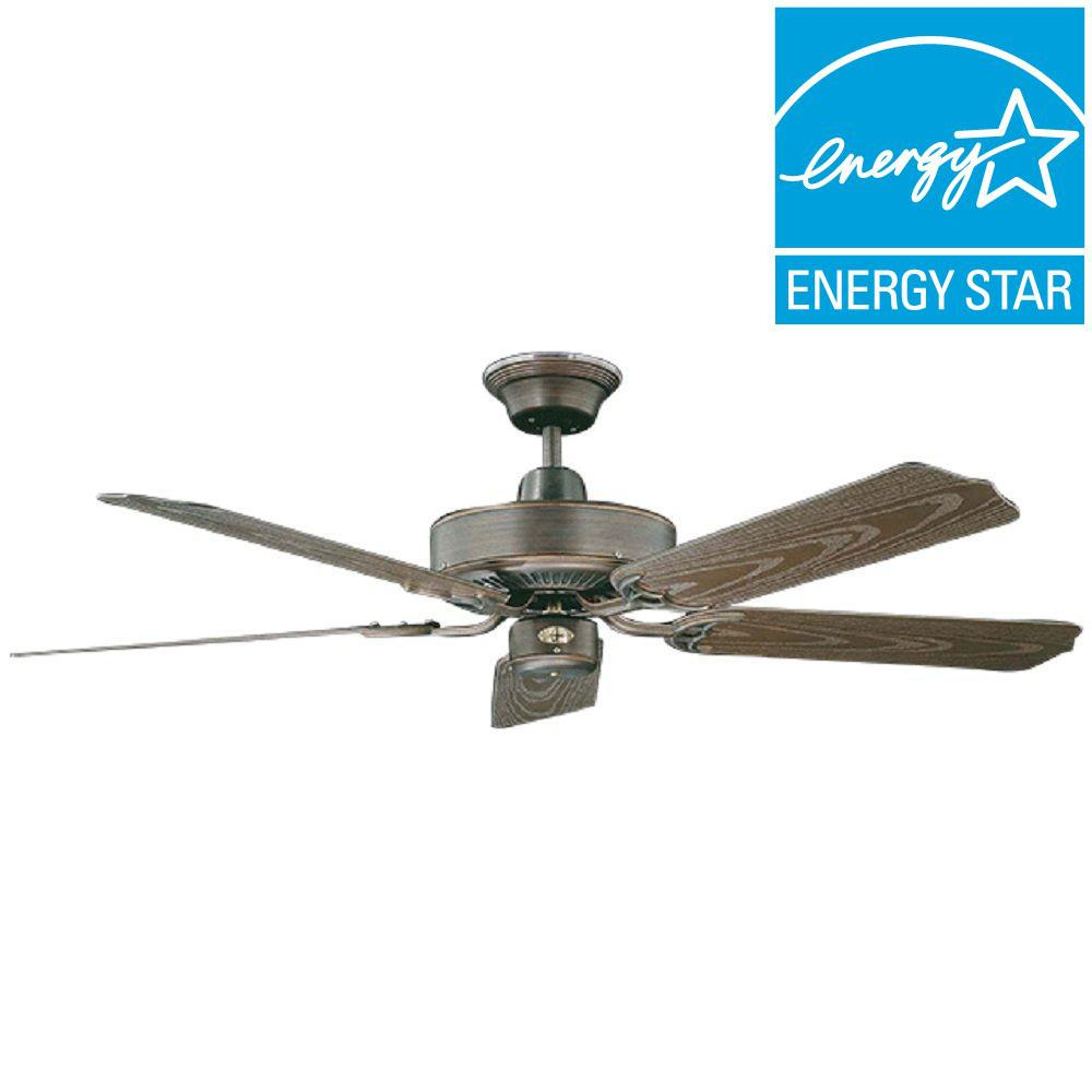 Concord Nautika 52 in. Outdoor Oil Rubbed Bronze Ceiling Fan
