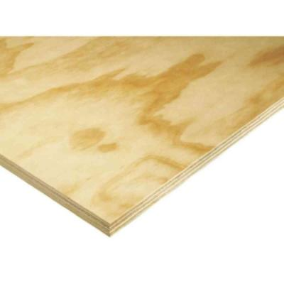 Swaner Hardwood Prefinished White Plywood (Common: 23/32 in  x 4 ft