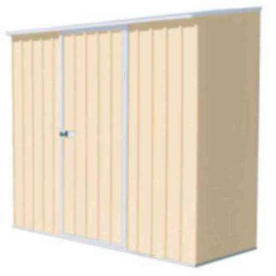 7 ft. x 3 ft. Spacesaver Classic Cream Tool Shed