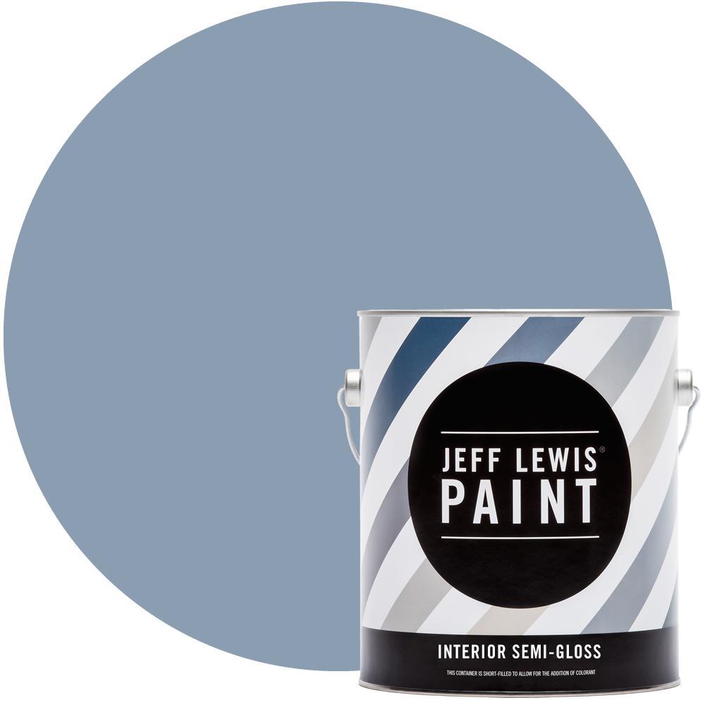 1 gal. #319 Laguna Semi-Gloss Interior Paint