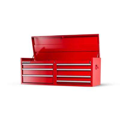 Workshop Series 54 in. 7-Drawer Top Chest, Red