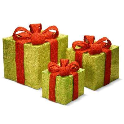 7 in., 9.5 in. and 11.8 in. H Gift Box Assortment (3-Piece)