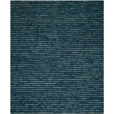 Bohemian Dark Blue/Multi 8 ft. x 10 ft. Area Rug